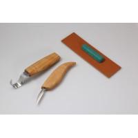 S02 Set de sculptura lingura cu cutit mic BeaverCraft