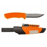 Cutit bushcraft/camping/supravietuire Bushcraft Survival Orange.