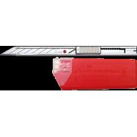 Set cutter INOX mic cu 10 lame - NT Cutter - 9mm