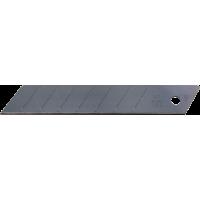 SET 10 LAME CUTTER NEGRE -EXTRA SHARP DE TIP L DE 18MM NT Cutter