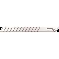 Set 10 lame segmentate- 9mm Martor in dispozitiv de siguranta