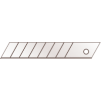 Set 10 lame segmentate- 18mm Martor in ambalaj transparent